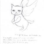 Kitten Angel by Chu