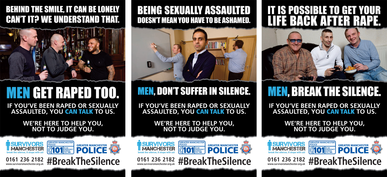 male rape all three posters